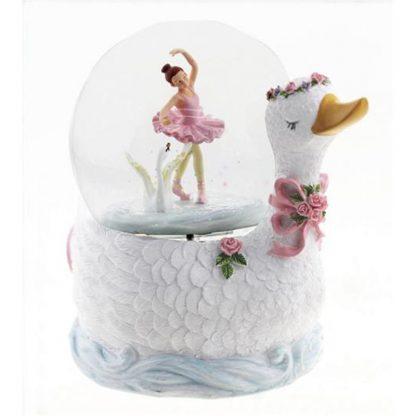 glitter globe snowglobe globo de neve bailarina lago dos cisnes swan lake bailado