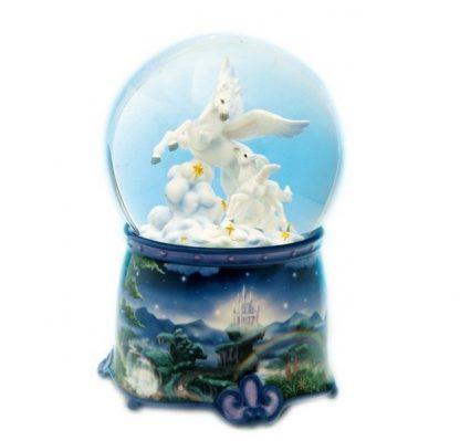 25217 pégasus unicórnio globo de neve snowglobe