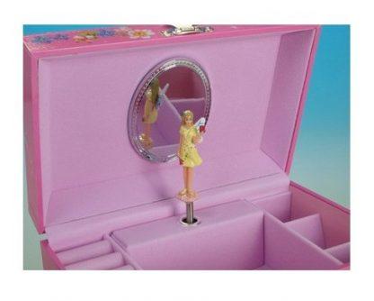 caixa de música bailarina fadinha