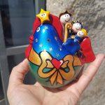 presépio galinha artesanato português