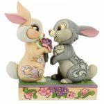 Bunny Bouquet (Thumper and Blossom Figurine) 6005963 jim shore tambor disney traditions