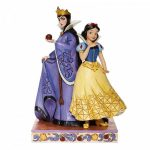 Evil and Innocence - Snow White and Evil Queen Figurine 6008067 branca de neve e rainha bruxa má disney traditions jim shore