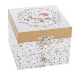 s20301 squirrel esquilo caixa de música bailarina princesa