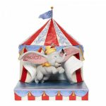 Over the Big Top - Dumbo Circus out of Tent Figurine 6008064 cumbo circo bvoo disney traditions jim shore