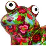 Mealheiro Tartaruga Zeppy M - Verde Flores