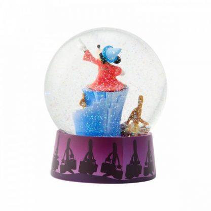 Fantasia Waterball 6004109 mickey snowglobe globo de neve disney showcase collection feiticeiro