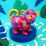 Monkey Bubbles | Money Box bubbles pomme pidou mealheiro macaco