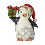 Christmas Penguin Pint sized Figurine 6009007