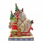 Grinch and Max Standing by Sleigh - The Grinch by Jim Shore 6008884 jim shore heartwood creek natal