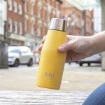 BUILT Apex 330ml Insulated Water Bottle - Silver Product code BLTAPX330SIL2 garrafa térmica criança