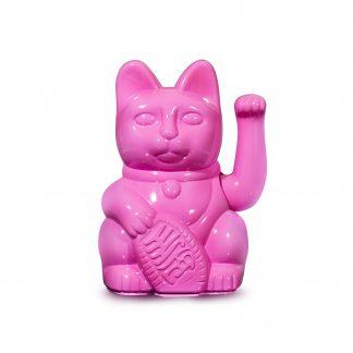 donkey maneki neko gato da sorte glossy pink 330478