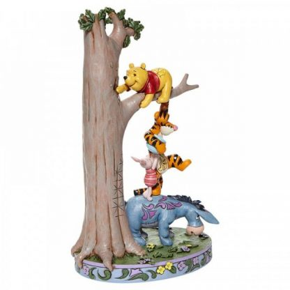 Hundred Acre Caper - Tree with Pooh and Friends Figurine 6008072 disney traditions jim shore