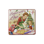 Townhouse Cookie & Sweet lata silver crane casinha natal 001714 lata natal baked with love lata 001708