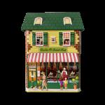 10646 Townhouse Cookie & Sweet lata silver crane casinha natal