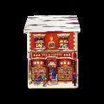 Townhouse Cookie & Sweet lata silver crane casinha natal 001714 lata natal