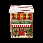 Townhouse Cookie & Sweet lata silver crane casinha natal 001714 lata natal 001715