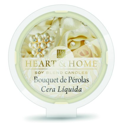 cera líquida aloe calmante heart&home bouquet de pérolas
