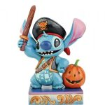 Click images to enlarge... Lovable Buccaneer - Stitch as a Pirate Figurine 6008987stitch pirata disney traditions jim shore