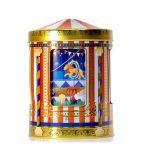 circus tin silver crane lata silver crane circo musical